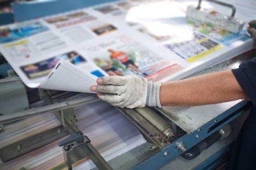 Печать газет, журналов и бланков